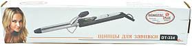 Керамічна Плойка для волосся з регулятором температури | Накрутка локонів і кучерів Domotec DT 334, фото 3