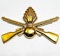Эмблема мотострелки золото