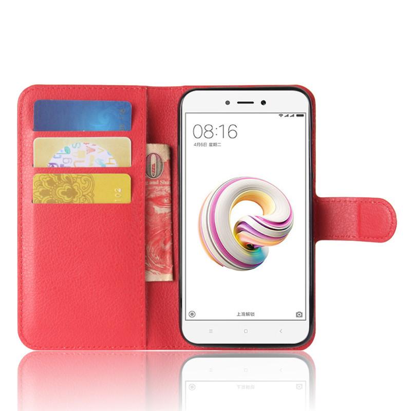 Чехол-книжка Litchie Wallet для Xiaomi Redmi 5A Red (lwrd0247)