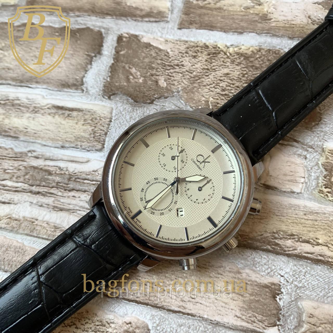 Мужские кварцевые  часы Calvin Klein