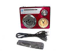 Радиоприемник колонка-часы Golon RX-722 Красная (sp4065)