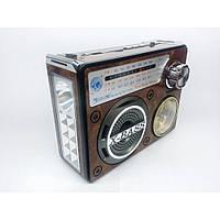 Радиоприемник-колонка Golon Часы MP3 RX-722LED Wooden Коричный (gr_007369)