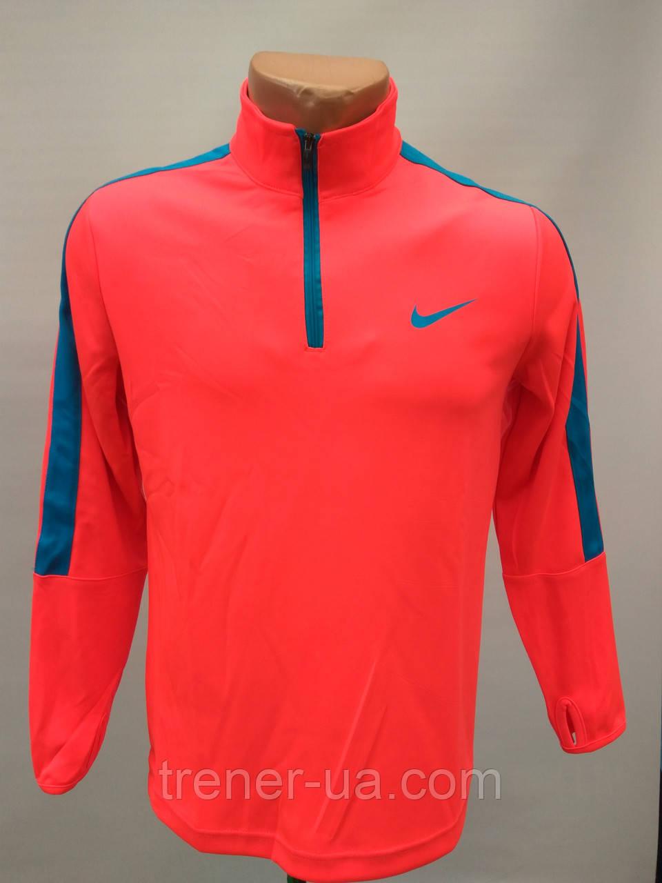 Костюм тренировочный футбольный в стиле Nike детский оранжевый-голубой-черный