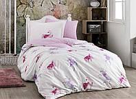 Комплект постельного белья 160х220 HOBBY Poplin Mia розовый 41032_1,5