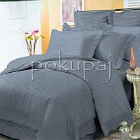 Комплект постельного белья Krispol страйп сатин люкс 180*220 двуспальный 543916 с