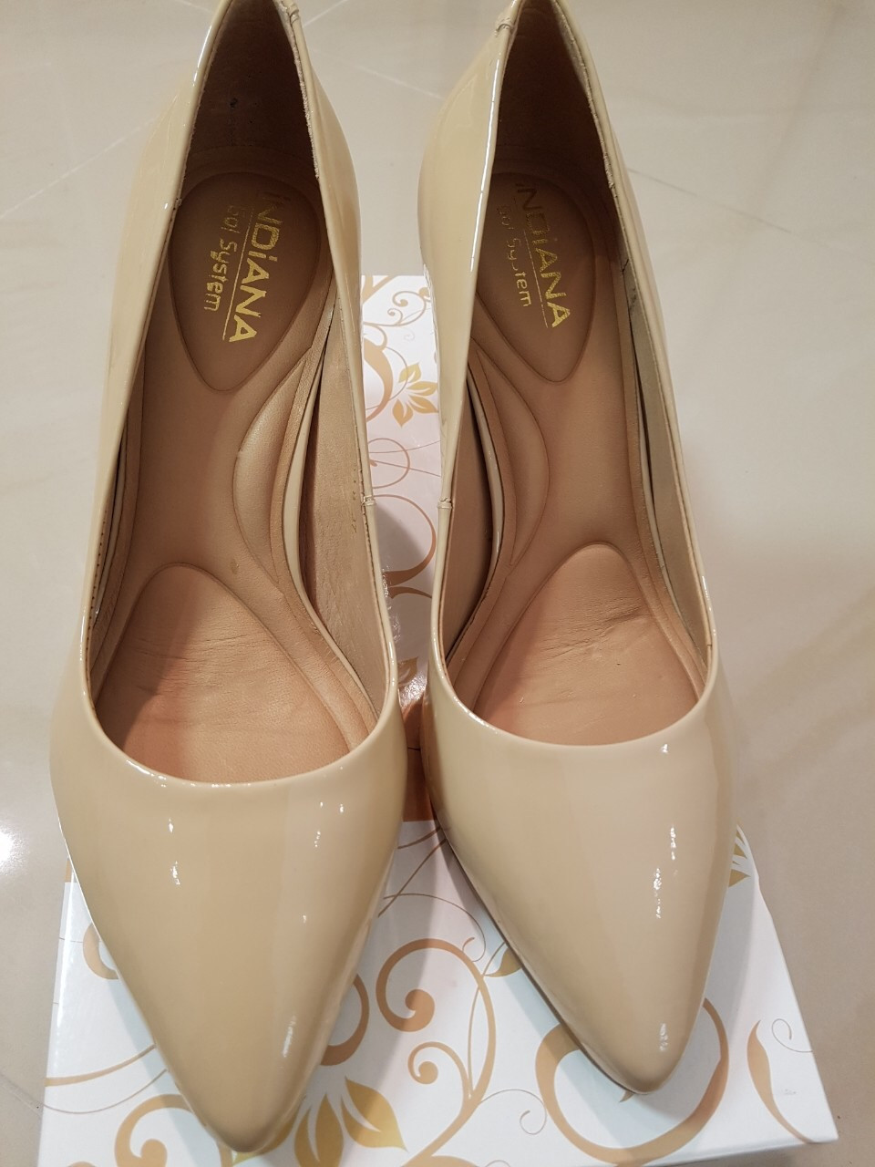 Туфлі жіночі INDIANA 8816-506-618 soft Pompeia W-618 94284 vs seda almond ma
