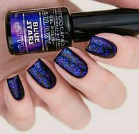 Гель-лак трехфазный GALAXY STYLE Giorgio Capachini 7 мл, BLUE STARS