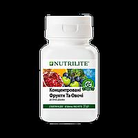 Фрукты и овощи добавка диетическая NUTRILITE концентрат