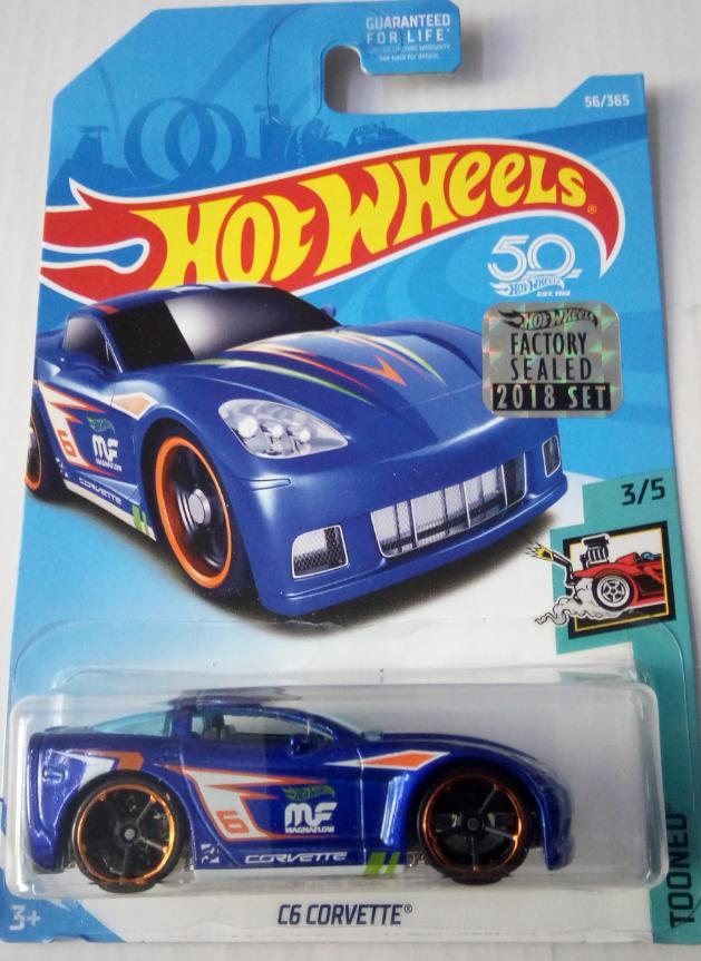 Машинка Hot Wheels 2018 C6 Corvette