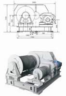 Лебедки электрические - Лебедка электрическая специальная маневровая ЛЭМ-10