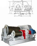 Лебедки электрические - Лебедка электрическая специальная маневровая ЛЭМ-15
