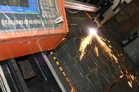 Машина термической обработки металла газоплазменной резки HCB-1500?3000FP