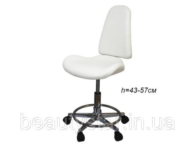 Косметологический стульчик со спинкой