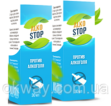 Alko Stop - Капли от алкоголизма (АлкоСтоп)