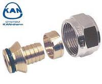 """KAN-therm соединитель конусный для труб PE-x и PE-RT 18х2,5 мм, 3/4"""" ВР, 9006.48"""