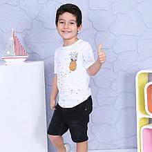 Футболка для мальчиков  от 4 до 8 лет. Производство Турция, Nanica Kids