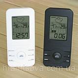 Погодная метеостанция с цифровым термометром, гигрометром и часами. , фото 2