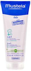 Шампунь для головы и тела 2 в 1 Mustela Bebe 2in1 Hair And Body Wash