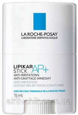 Успокаивающее восстанавливающее средство моментального действия La Roche Posay Lipikar Stick AP+