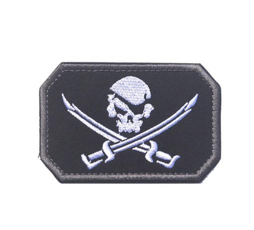Тактическая нашивка! Нашивка пиратская!