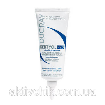 Крем от жирной перхоти и покраснения кожи головы Ducray Kertyol P.S.O. Cream