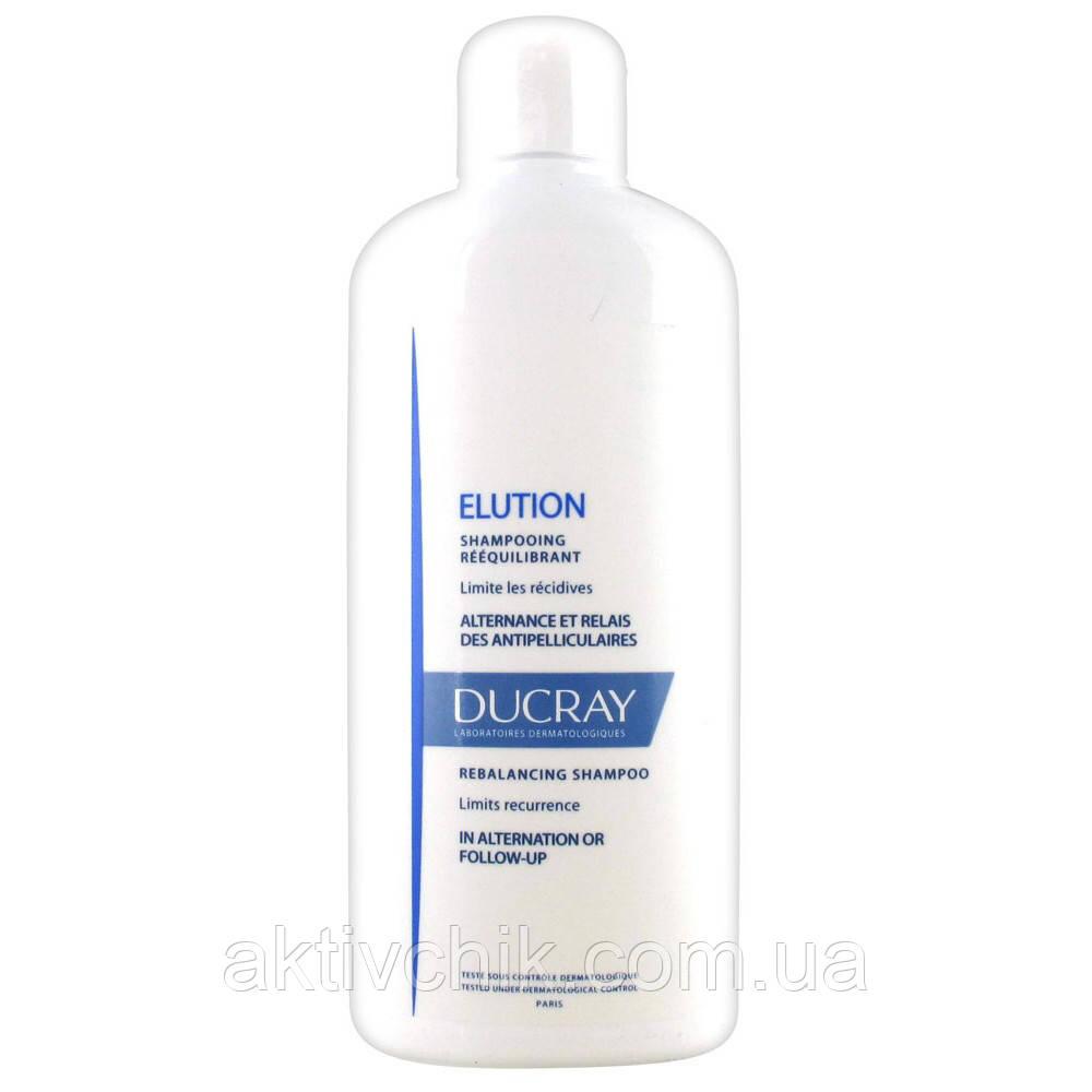 Шампунь в большой экономной упаковке для частого применения Ducray Elution Shampoo 400мл