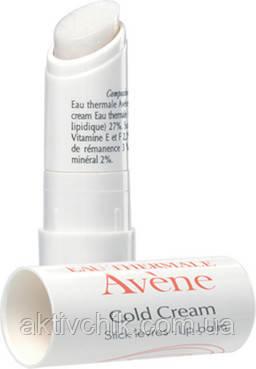 Бальзам для губ з Авен Колд кремом Avene Peaux Seches Cold Cream Lip Balm