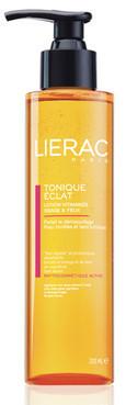 Витаминизированный тонизирующий лосьон для лица и контура глаз Lierac Tonique Eclat Vitamin Enriched