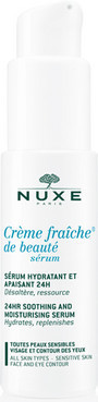 Увлажняющая успокаивающая сыворотка Nuxe Moisturizing Serum Creme FraicheDe Beaute