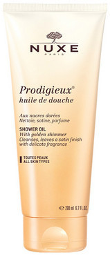 Чудесное золотое масло для душа Nuxe Prodigieux Huile De Douche