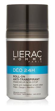 Шариковый дезодорант для мужчин Лиерак Lierac Homme Deo 24h Anti-Perspirant Roll-On