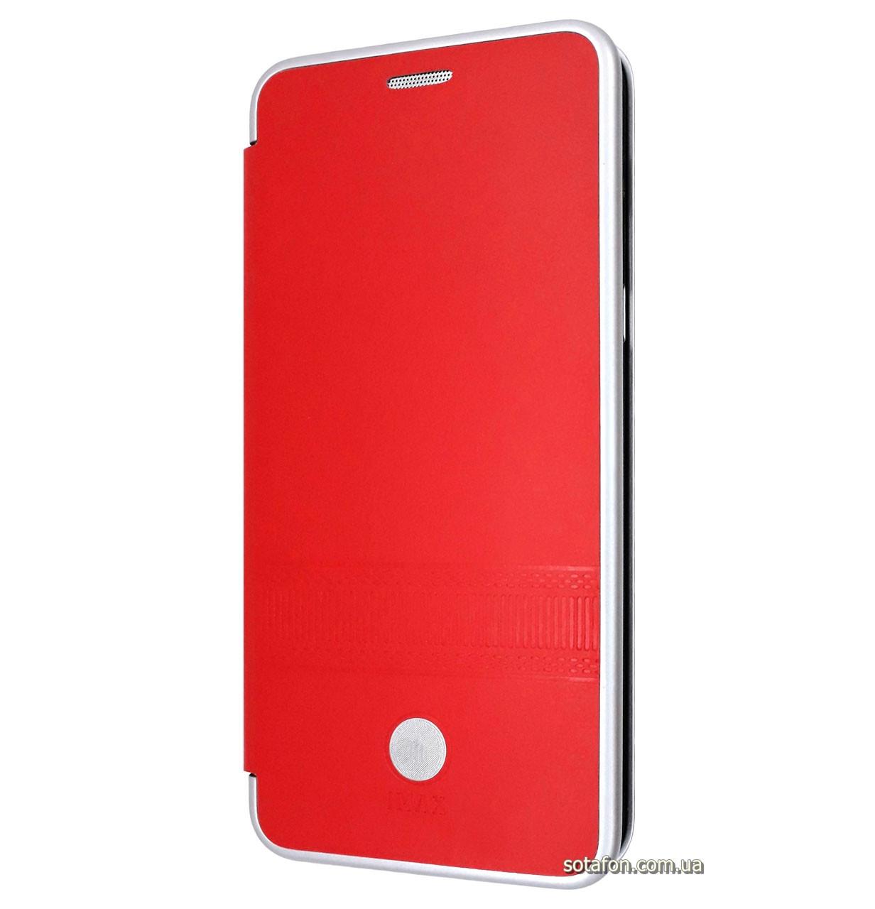 Чехол-книжка IMax с функцией подставки для Meizu M6t Red