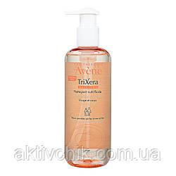 М'який очищаючий гель для обличчя і тіла Avene Peaux Seches Trixera Nutrition Gel