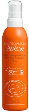 Солнцезащитный спрей для тела Avene Spray Very High Protection SPF 50+