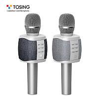ОРИГИНАЛ! Микрофон караоке с колонками TOSING XR / TUXUN Беспроводной Блютуз. Лучший детский подарок, фото 1