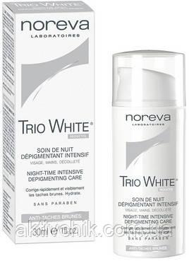 Ночное депигментирующее средство Noreva Laboratoires Exfoliac Trio White Night