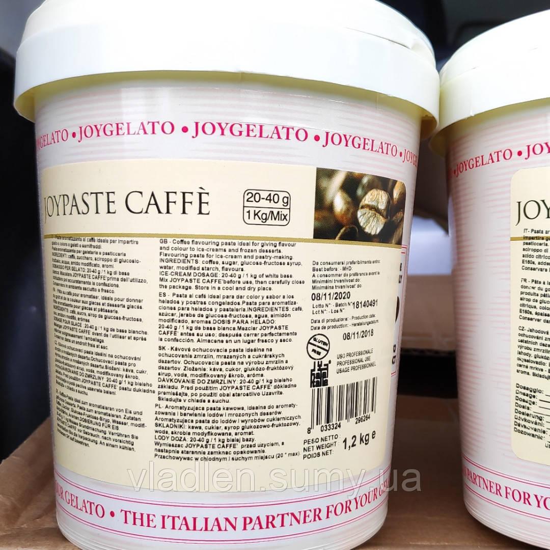 """Натуральная паста со вкусом кофе """"Joypaste Caffe"""", Италия (фасовка 1,2 кг)"""
