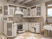 Купить кухню из дерева в Киеве, недорогие кухонные гарнитуры, фото 1