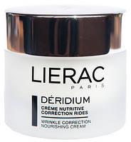Крем для профилактики и коррекции признаков старения сухой кожи Lierac Deridium Wrinkle Correctoin Nourishing Cream