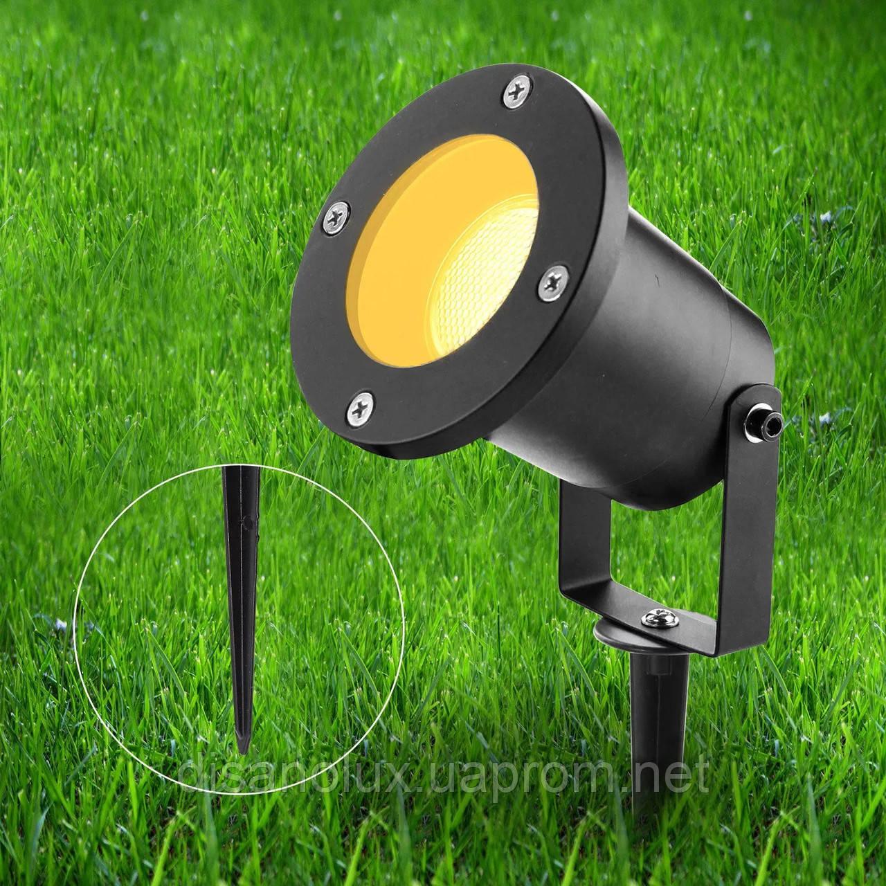 Светильник ландшафтный  HL-DC9805  GU10 230V IP 65