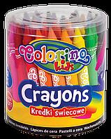 Восковые карандаши 24 цвета, Colorino Jumbo