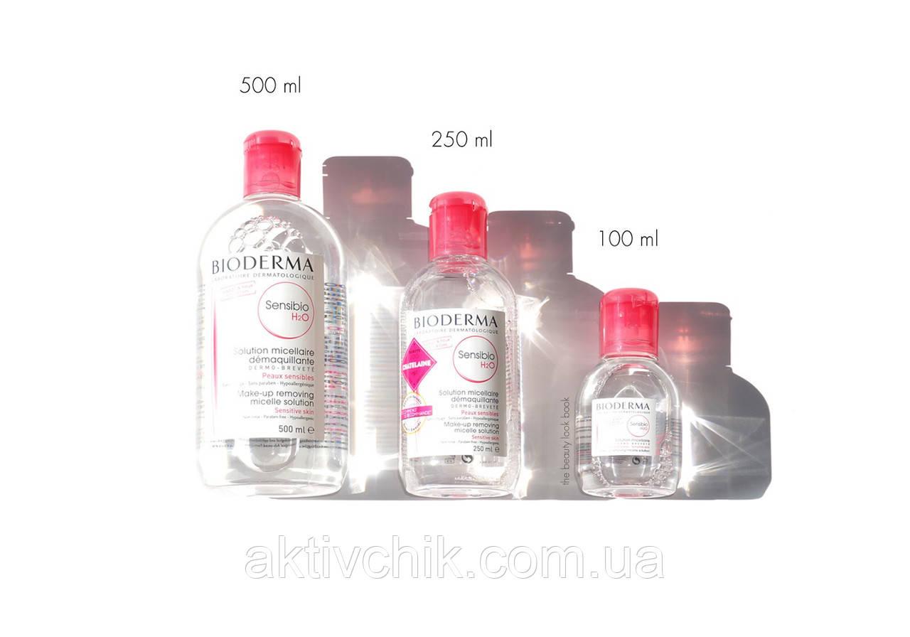 Мицеллярная вода Биодерма Сенсибио Креалайн Bioderma Sensibio Crealine H2O Micellaire Solution 100 мл