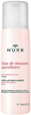Очищающий мицеллярный мусс c лепестками роз Nuxe Micellar Foaming Cleanser With Rose Petals