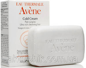 Питательное мыло с Колд кремом Авен Avene Peaux Seches Cold Cream Soap