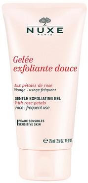 Гель-скраб c лепестками роз Nuxe Exfoliating Gel With Rose Petals Нюкс Ексфолиат Гель виз роуз петалс