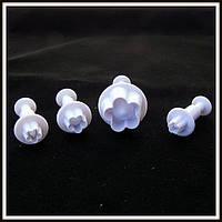 Плунжер Яблоневый цвет 4 шт (кнопка), фото 1