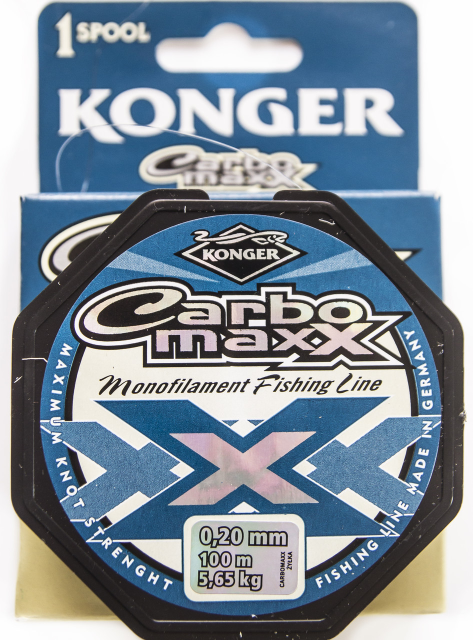 Леска Konger Carbo maxx 100m 0.16mm