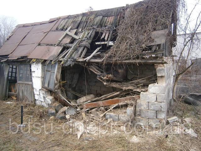 Демонтаж частного дома в Днепропетровске по хорошей цене