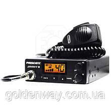 Радиостанция (рация) CB President Jimmy II ASC 12V (Автомобильная 27 МГЦ) для дальнобойщиков СИ-БИ