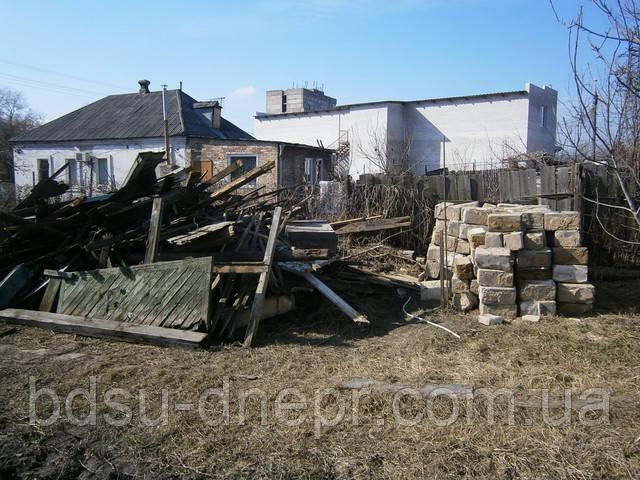 Разборка построек в Днепропетровске